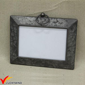 Vintage Industrial Metal Folding Hinged Photo Frame pictures & photos