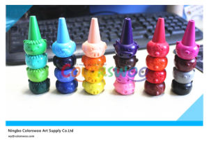 3D Creative Animal Sharp Finger Crayons for Students and Kids pictures & photos