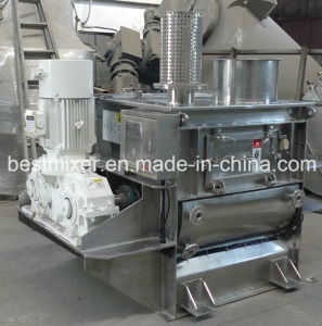 Sectional Jacket Stainless Steel Paddle Mixer pictures & photos