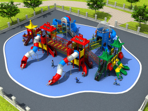 Factory Customized of Kids Outdoor/Indoor Playground Slide Hot Sell Preschool Equipment Amusement Park Dream of Pleasure Island pictures & photos