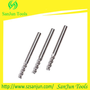 Tungsten Solid Carbide Aluminum End Mill with High Precision pictures & photos