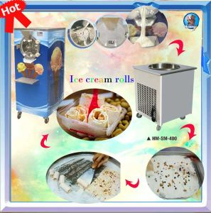 Ice Cream Roll Freezer/Efficient and Energy pictures & photos
