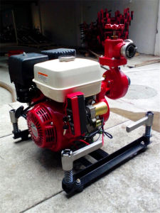 Bj-10A-2 Fire Pump with Gasoline Engine pictures & photos