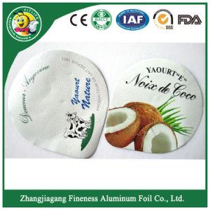 Disposable Printed Yogurt Foil Lid pictures & photos