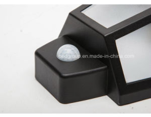 High Bright LED Plastic Solar Wall Light From China Factory pictures & photos