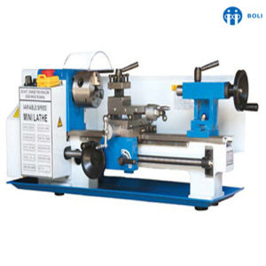 Metal Mini Lathe Speed Display Variable Speed Wm180V Mini Machine Lathe pictures & photos
