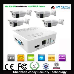 4 Channel NVR Kit 1080P Onvif Poe Mini NVR Kit 4CH pictures & photos