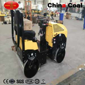 China 1.3t Hydraulic Ride on Double Vibratory Road Roller Compactor pictures & photos