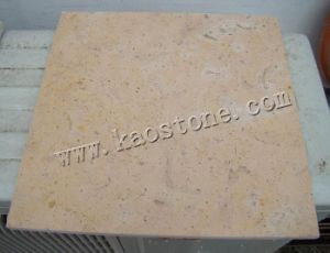 Natural Yellow Limestone Tiles / Slabs for Wall Decoration pictures & photos