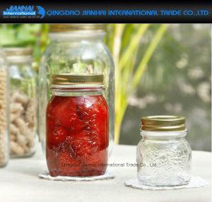Vintage-Style Glass Kitchen Food Storage Jam Canning Mason Jars pictures & photos