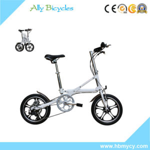 "Aluminum Alloy Kids Bike/ 14""Cheap Foldable Children Bicycle Wholesale pictures & photos"