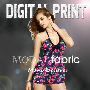 Print on Modal Fabric for Woman′s Scarf Modal/Cashmere Blend, Modal/Silk Blend pictures & photos
