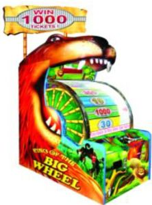 Game Machine King of The Big Wheel Electronic Video Game pictures & photos