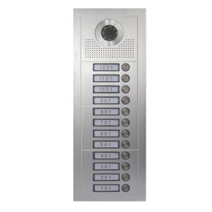 Video Door Phone for 12 Apartments pictures & photos