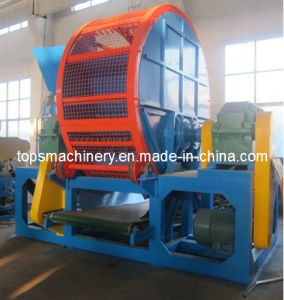 Rubber Tyre Shredder (SLPS-800; SLPS-1200) pictures & photos