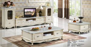 TV Set, New Classic Coffee Table, Living Room Home Furniture (1506) pictures & photos