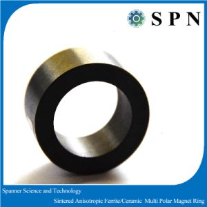 Ceramic Ferrite Permanent Multipole Magnet Rings for Stepping Motor pictures & photos