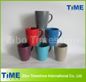 Funnel Shape Porcelain Coffee Mugs (15050701) pictures & photos
