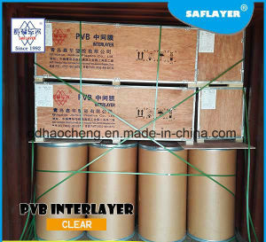 0.38mm Clear PVB Film for Laminated Glass pictures & photos