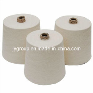 Raw White Polyester Staple Yarn Knitting