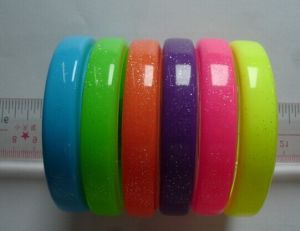 2014 Wholesale Good Quality Fashion Rubber Silicone Bangle