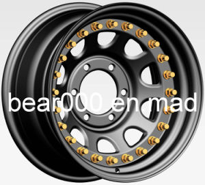 4WD Steel Wheel with High Quality 16X10 pictures & photos