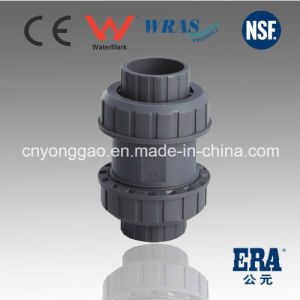 Era Made in China PVC True Union Ball Check Valve pictures & photos