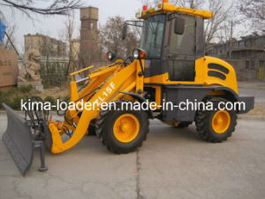 Zl15f Wheel Loader with Snow Blade and CE