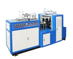 China Supplier Double Sides PE Coated Paper Cup Forming Machine