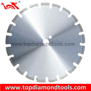 Asphalt & Green Concrete Cutting Diamond Saw Blades with Tct Inserted pictures & photos
