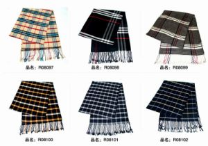 New Design Fashion Viscose Scarf (08097-08102) pictures & photos