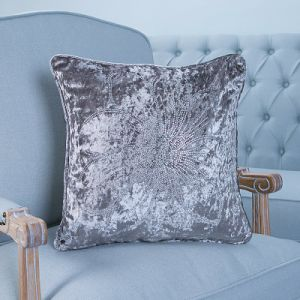 Diamond Ironing Decorative Cushion/Pillow with Feather Pattern (MX-43) pictures & photos