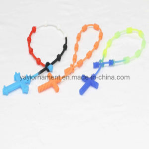 Silica Gel Hand Ring Fine Cross