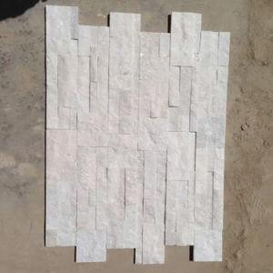 Exterior Wall Decoration Natural White Quartz Stone Veneer (SMC-SCP355) pictures & photos
