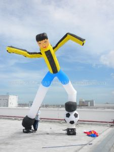 Inflatable Air Dancer, Football/Soccer Sky Dancer (K1035)