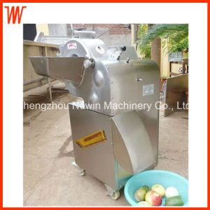 Multifunction Radish Kiwi Carrot Potato Vegetable Cube Cutting Machine pictures & photos