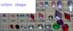 Acrylic Triangle Rhombus Beads