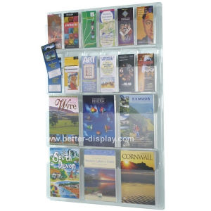Wall Mount Acrylic Magazine Rack (BTR-H6045) pictures & photos