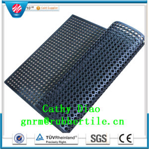 Soft Rubber Mat, Interlocking Rubber Mat, Kitchen Rubber Mat Drainage Rubber Mat pictures & photos
