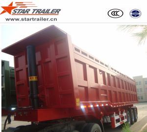 3 Axles Self-Dumping Tipper Trailer pictures & photos
