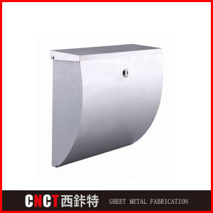 Top Slot Stainless Steel Locking Mailboxes pictures & photos