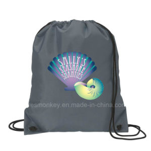 Eco Recyclable Drawstring Shopping Polyester Bag pictures & photos