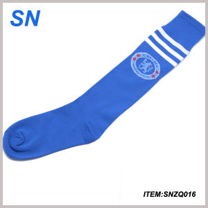 New Design Stripe Wholesale Football Sock pictures & photos