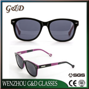 High Quality Summer Design Acetate Fashion Sunglasses Buck13-333446 pictures & photos