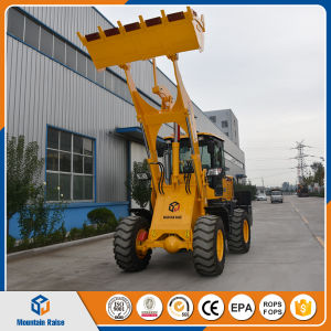 Hydraulic Torque Converter 2ton Mini Shovel Loader with Price pictures & photos