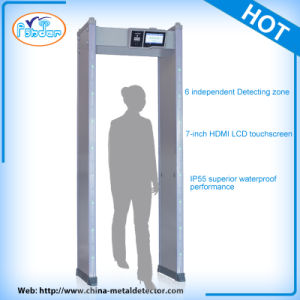 Touch Screen Intelligent Security Doors Metal Detectors pictures & photos