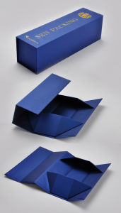 Foldable Wine Gift Box, Cost-Effective for Shipment pictures & photos