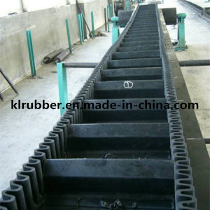 Corrugated Sidewall Rubber Conveyor Belt pictures & photos