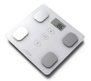 Glass Platform Electronic Body Fat Scale with Full Base pictures & photos