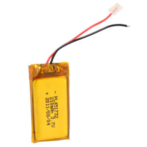 Lithium Battery 3.7V 210mAh Rechageable Battery Pack